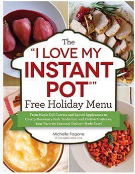 FREE Instant Pot Holiday Menu!