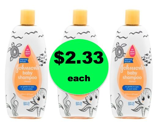 Oh Baby! Pick Up Johnson's Baby Shampoo for ONLY $2.33 {Reg. $5!} at Target! ~PRINT NOW!