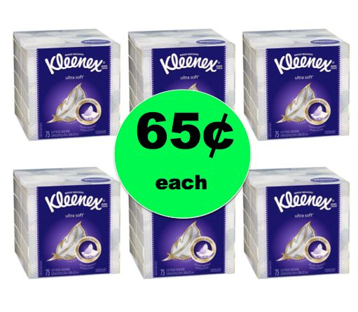 Cooler Weather Means More Tissues! Pick Up Kleenex Facial Tissue For ONLY 65¢ Each at Winn Dixie! ~Right Now!