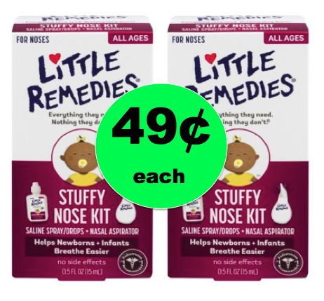 Give Baby Relief with Little Remedies Stuffy Nose Kit Only 49¢ Each at Walgreens! ~ Right Now!