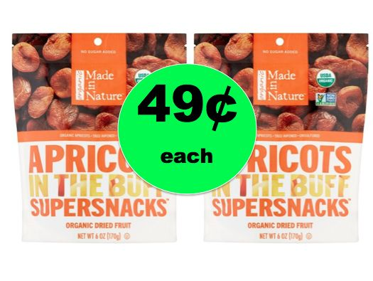 Be Ready for the Munchies with 49¢ Made in Nature Supersnacks at Walmart! ~NOW!