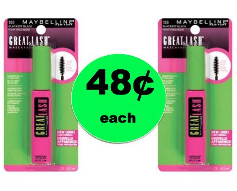 Get Lovely Lashes for Less with 48¢ Maybelline Mascara at Walgreens! ~Ends Today!