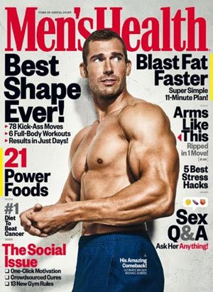 FREE One-Year Subscription to Men's Health Magazine!