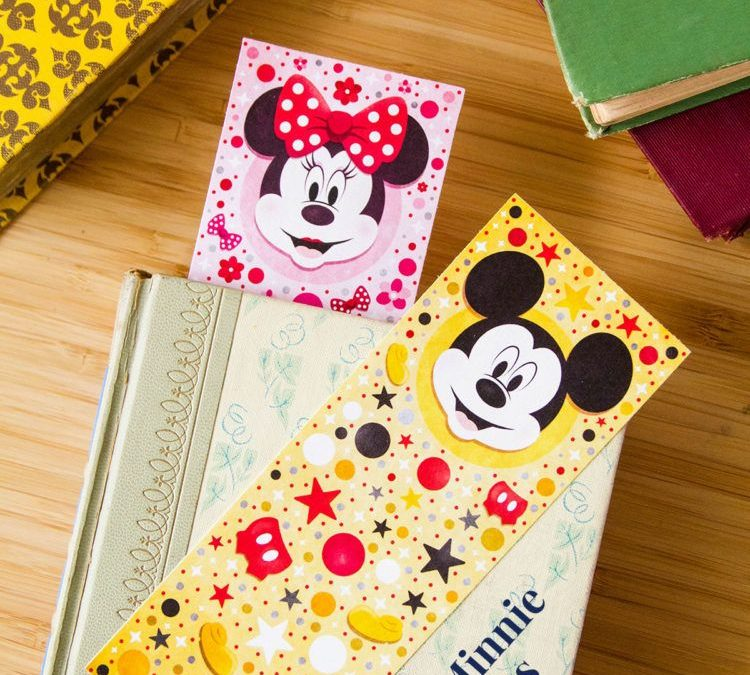 FREE Disney Mickey & Minnie Bookmarks!
