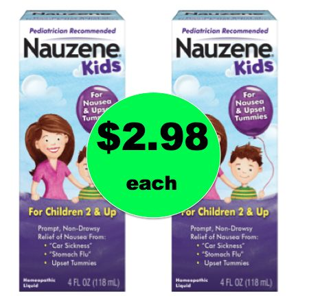 Help Those Little Tummies Feel Better with $2.98 Nauzene Kids Nausea Relief {Save $4!} at Walmart! ~NOW!