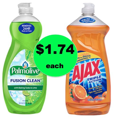 Palmolive or Ajax Dish Soap {Big Bottles} ONLY $1.74 Each at Winn Dixie! ~ Right Now!
