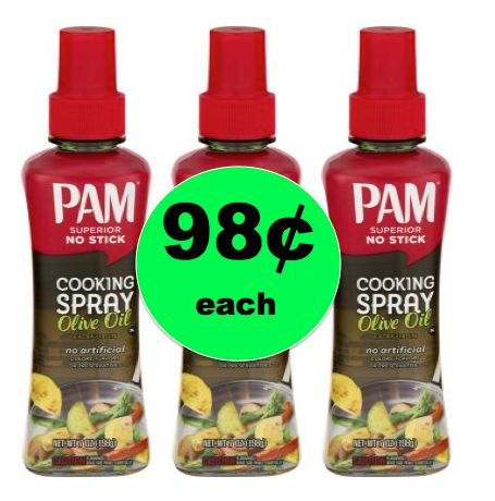 Great for Cooking! Pick Up 98¢ Pam No Stick Cooking Sprays at Walmart! ~NOW!