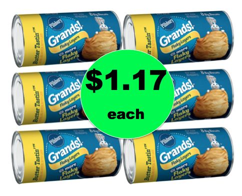 Make Sure the Bread Basket Stays Full with Pillsbury Grands! Biscuits ONLY $1.17 Each at Winn Dixie! ~Right Now!