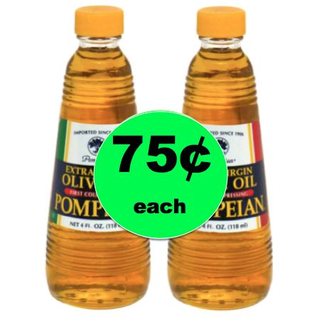 Pick Up Pompeian Extra Virgin Olive Oil ONLY 75¢ Each at Winn Dixie! ~ Starts Today!