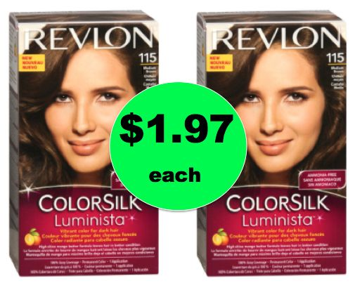 Get Lost Gray! Get Revlon Colorsilk Luminista Hair Color ONLY $1.97 Each at Walgreens! Right Now!