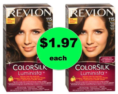 Bye Bye Gray! Get Revlon Colorsilk Luminista Hair Color ...