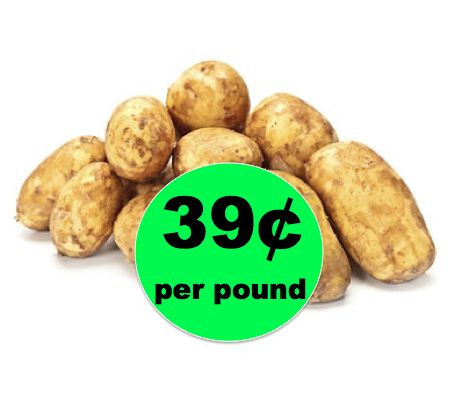 Let's Talk Taters! Get 10lbs of Russet Potatoes ONLY $3.99 Each at Winn Dixie! ~ Starts Today!