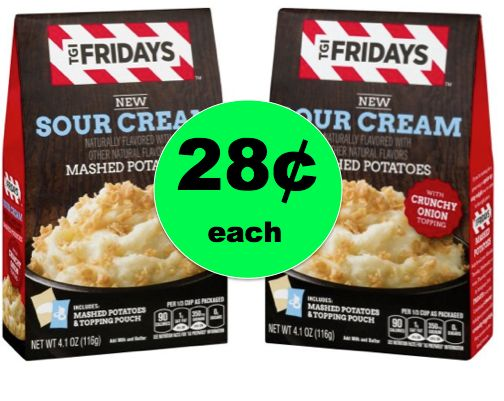 Easy, Quick & CHEAP 28¢ TGI Fridays Mashed Potatoes at Walmart! ~NOW!