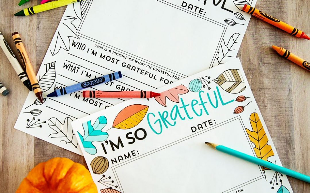 "FREE ""I'm Grateful For…"" Thanksgiving Printable!"