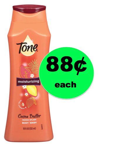 Pick Up 88¢ Tone Body Wash at Walmart! (Ends 12/31)