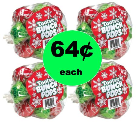Stocking Stuffer Deal! Get FOUR (4!) Tootsie Bunch Pops ONLY 64¢ Each at Target! ~ Ends Saturday!