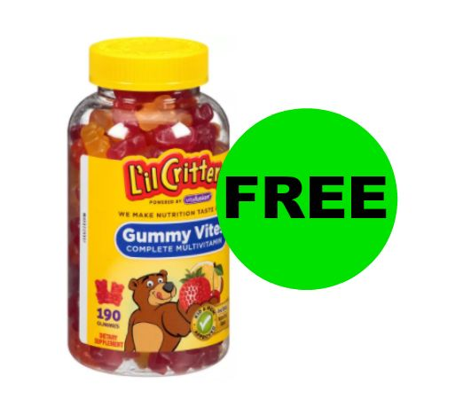 FREE Vitafusion Lil' Critters Gummies after Rebate at Walgreens! ~ Right Now!