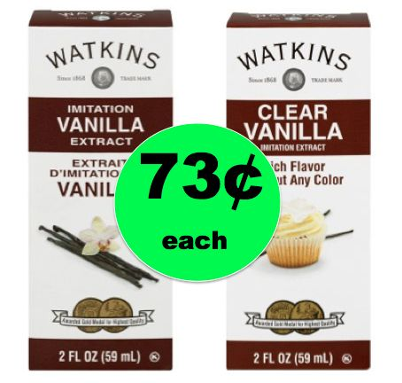 Let's Get Baking with 73¢ Watkins Vanilla Extract at Walmart!  ~Right Now!