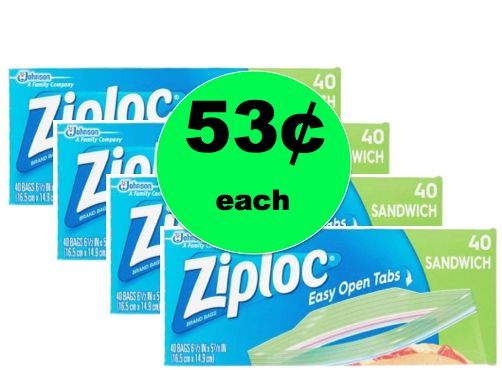 Print NOW for 53¢ Ziploc Bags at Walmart! ~Happening This Week!