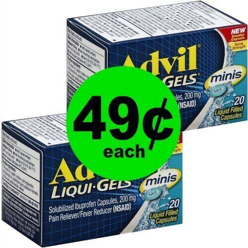 Ease the Pain! Snag Advil Liqui-Gels for 49¢ Each at Publix! (Ends 1/2 or 1/3)