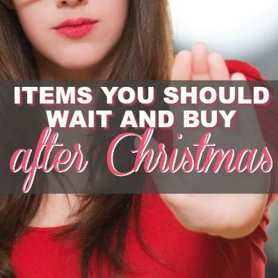 8 Things You Should Buy After Christmas