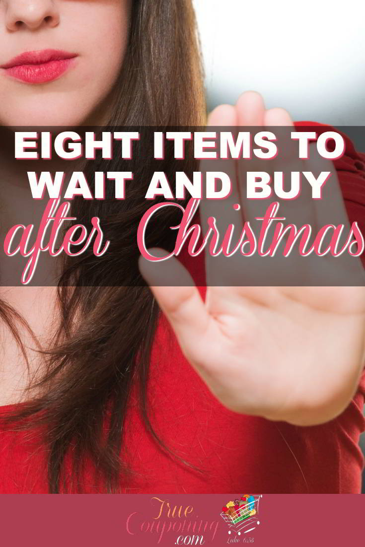 Don't get swayed by stores enticing marketing tactics to try and get you to buy before Christmas when you can wait a couple weeks and get a much better deal!
