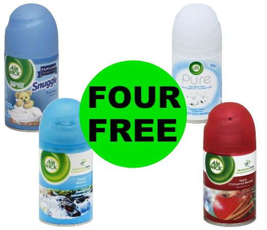 Don't Miss Out on FREE-FREE Air Wick Freshmatic Refills at Publix! Ends Tues/Weds!