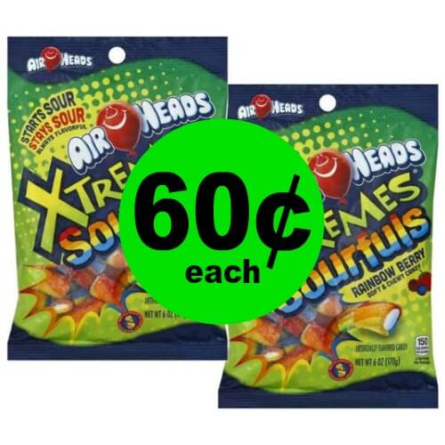 Like Sour Candy?! Grab 60¢ Airheads Candy Bags! Print NOW! (12/24 – 12/30)