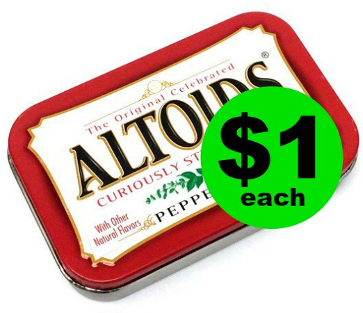 No Coupon Needed! $1 Altoids Mints at CVS! Going On Now!