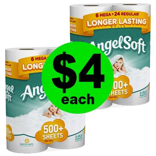 Angle Soft Bath Tissue JUST 67¢ Per Mega Roll at Publix! (Ends 1/2 or 1/3)