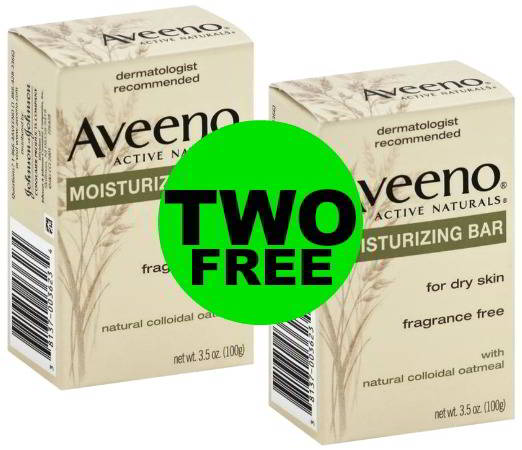 It's FREE! Grab TWO (2!) FREE Aveeno Moisturizing Bars at Publix! 2/22 – 2/28 (or 2/21 – 2/27)