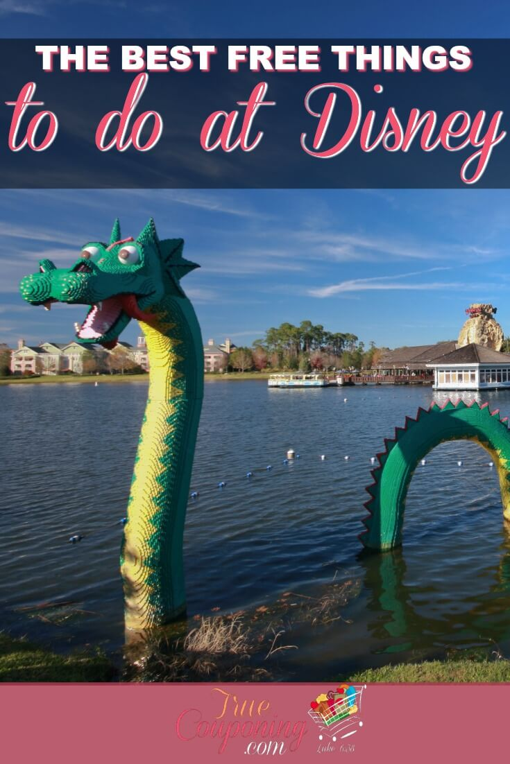 There\'s so much to do near the Disney Parks that you don\'t need to spend extra money to have fun! Heck, you don\'t even have to go TO the parks! Use this guide to plan your FREE Disney Fun! #truecouponing #savingmoney #disneyworld #disneyfun #disney
