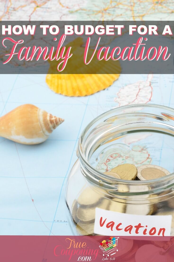 A family vacation can be so expensive. You can set up a successful budget for your next vacation so you won't go into debt on your next trip! #debtfree #familyvacation #savings #truecouponing #budgeting