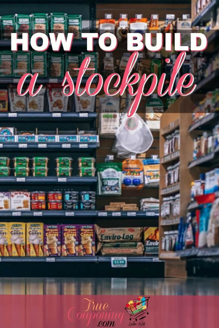 Are you ready for the next storm? You can not only be prepared but also reduce your grocery bill each month by starting a grocery stockpile! #truecouponing #couponcommunity #groceries #stockpile #savings