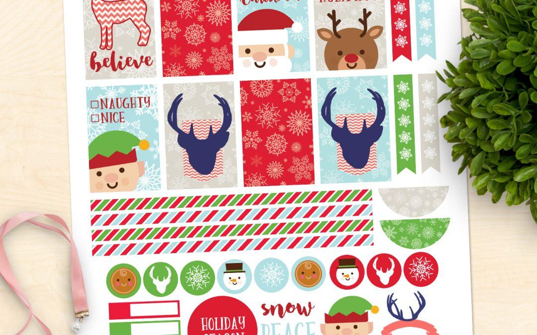 FREE Christmas Planner Printable!