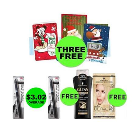HOORAY for SEVEN (7!) FREEbies & Twelve (12!) Deals JUST $.75 Each or Less at CVS! (12/17 – 12/23)