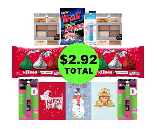 For Only $2.92 TOTAL, Get (3) Cards, (3) Candies & (5) Cosmetics This Week at CVS!