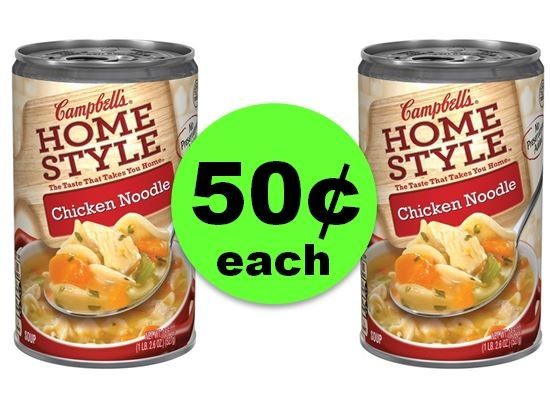 Don't Miss $.50 Campbell's Homestyle Soups at Publix! ~ Ends Tues/Weds!