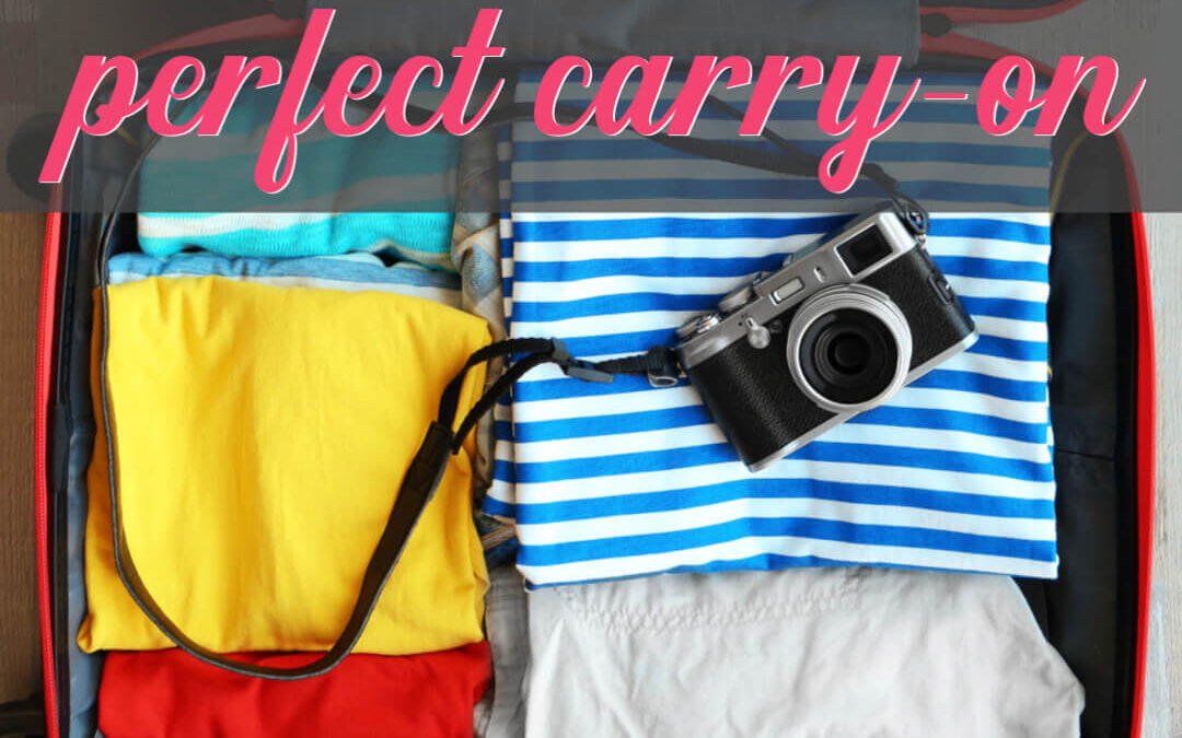 How To Pack The Perfect Carry-On To Avoid Checking Bags