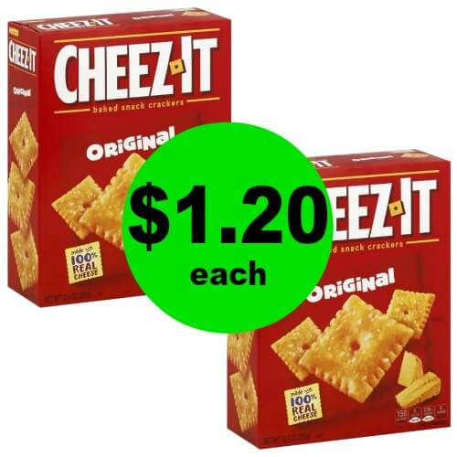 Snack Away! Grab Cheez-It Snack Crackers for $1.20 Each at Publix! (Ends 1/2 or 1/3)