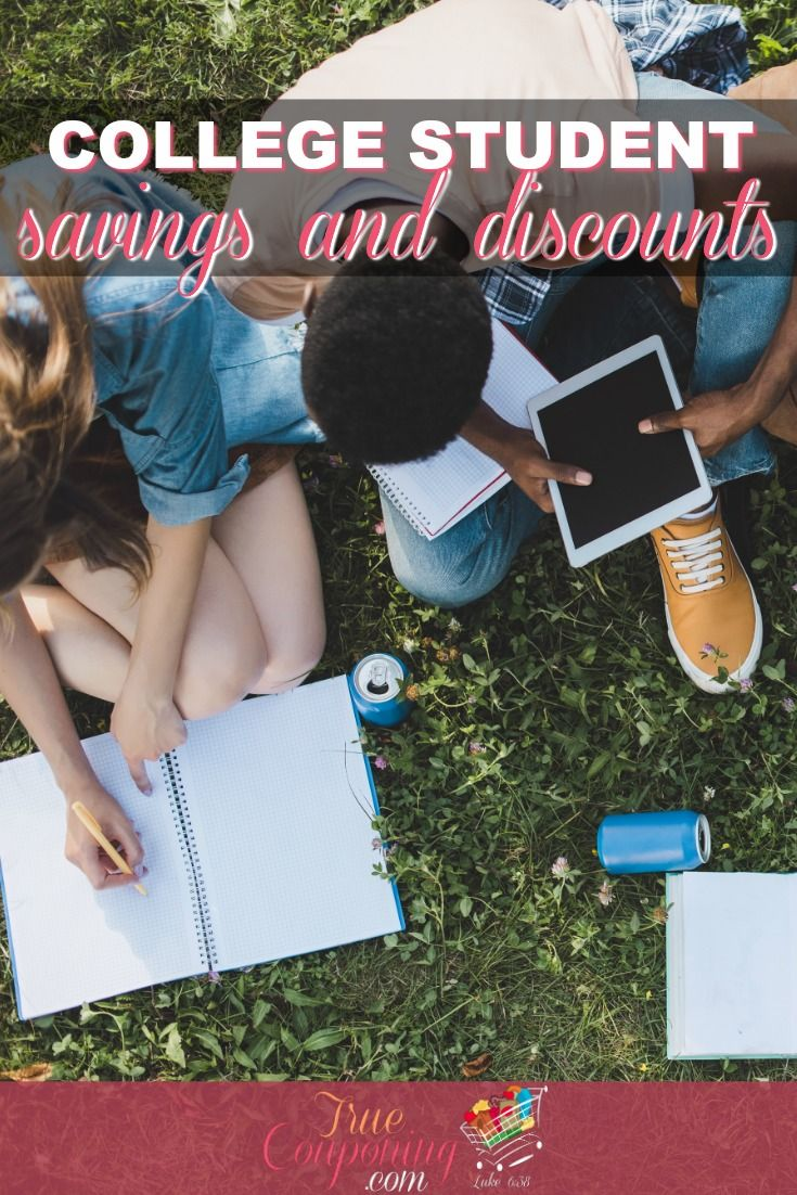 College Savings And Discounts For Being A College Student