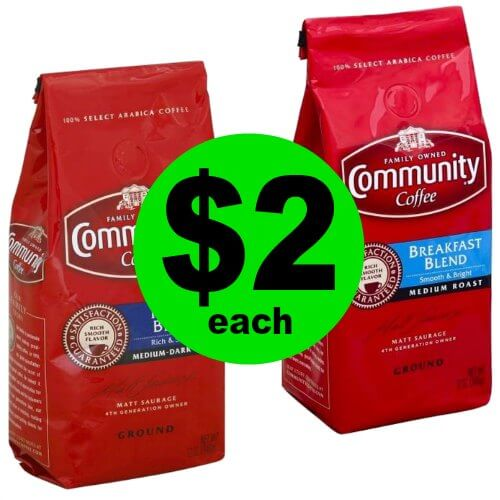 It's Coffee Time! Community Coffee Bags are $2 Each at Publix! (12/27-1/2 or 12/28-1/3)
