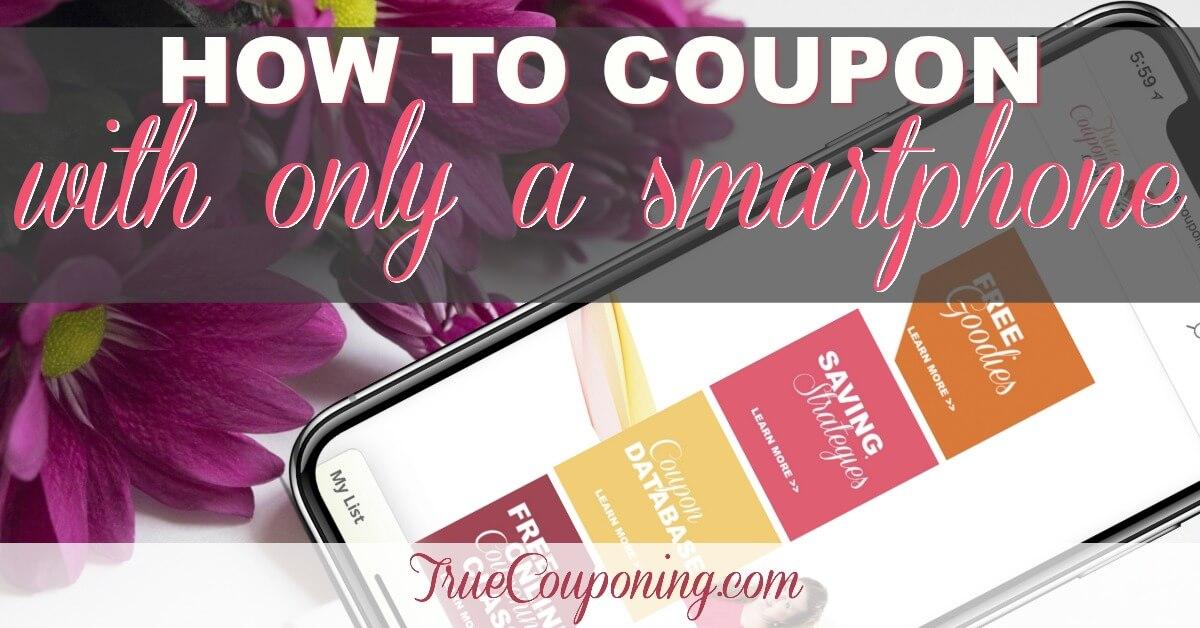 start couponing