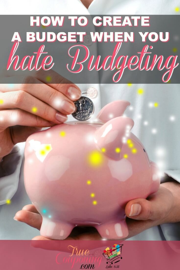 Putting together a budget can not only seem daunting but also a little scary. I've put together step by step instructions to how you not only how to put together a budget the right way, but how to make it work for you! #truecouponing #budget #budgeting #saving #debtfree