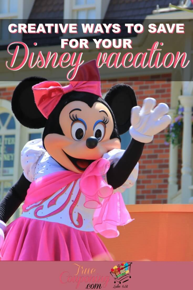 Need to boost your Disney vacation fund? You save up more for your trip without having to get a second job. #truecouponing #savings #disney #familyvacation #debtfree