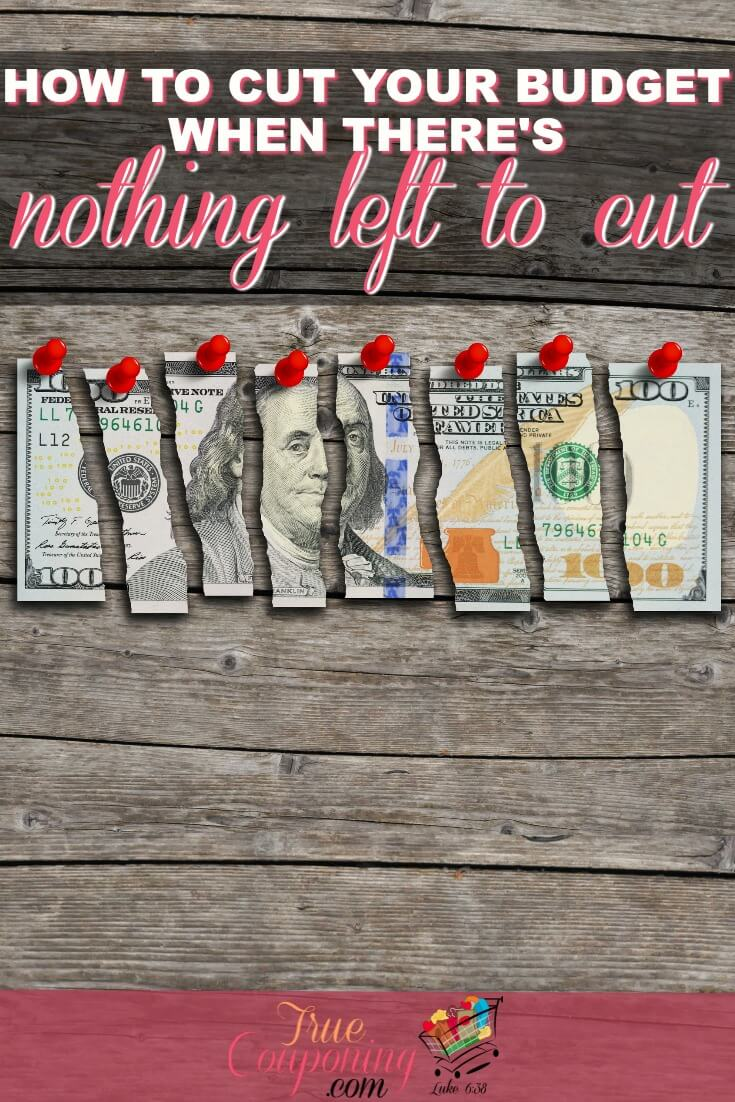 Need to cut more out of your budget? There are more things to cut that you probably haven\'t thought of! Start cutting with these tips! #truecouponing #debtfreecommunity #debtfree #budget #budgeting