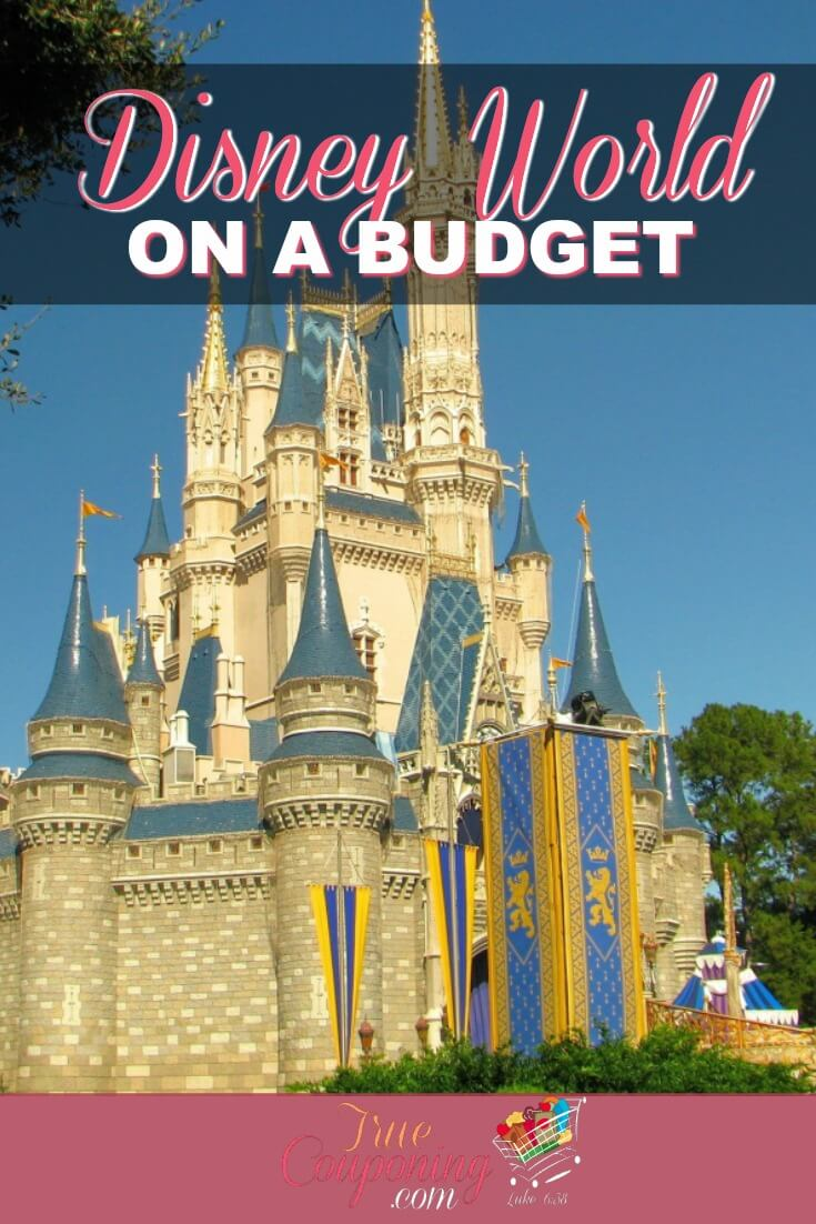 A Disney World vacation doesn't have to cost you your entire life savings. Learn how to keep all the magic while not breaking the bank! #truecouponing #savingmoney #disneyvacation #familyfun