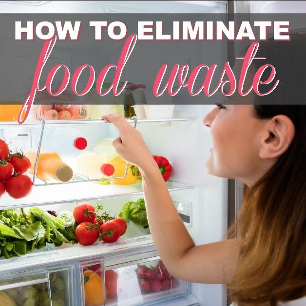 How To Eliminate Food Waste (Organize Your Fridge)