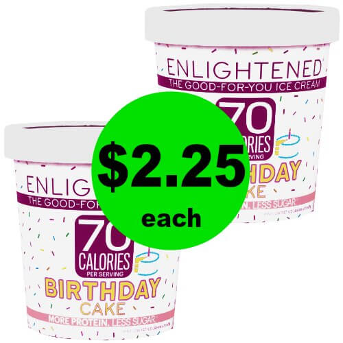 Have Your Ice Cream And Eat It TOO Enlightened High Protein Is 225 Each At Publix 12 28 1 3 Or 27 2