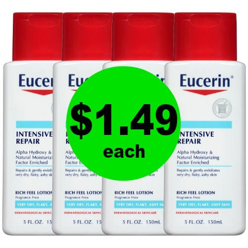 Smooth Your Skin with Eucerin Intensive Lotions for $1.49 Each at CVS! (12/24 – 12/30)